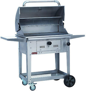 Image Is Loading Bull Bison Charcoal Grill On Cart