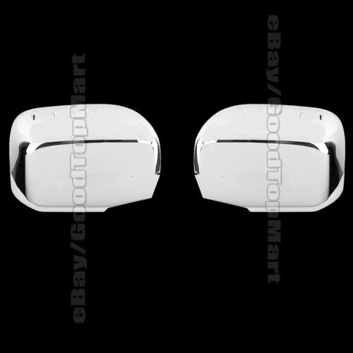 For 2006-2012 2013 2014 Honda RIDGELINE 2 Chrome FULL Mirror Covers Mirrors Pair