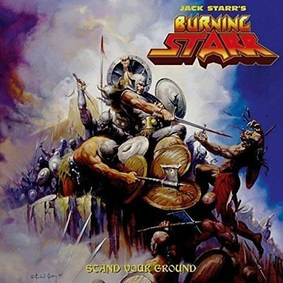 Jack Starr`S Burning Starr-Stand Your Groud (Double Orang (UK IMPORT)  VINYL NEW