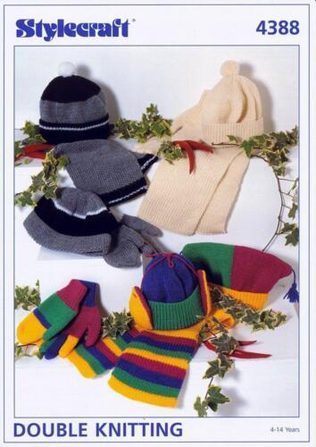 Stylecraft 4388 Knitting Pattern Accessories in Stylecraft Special DK