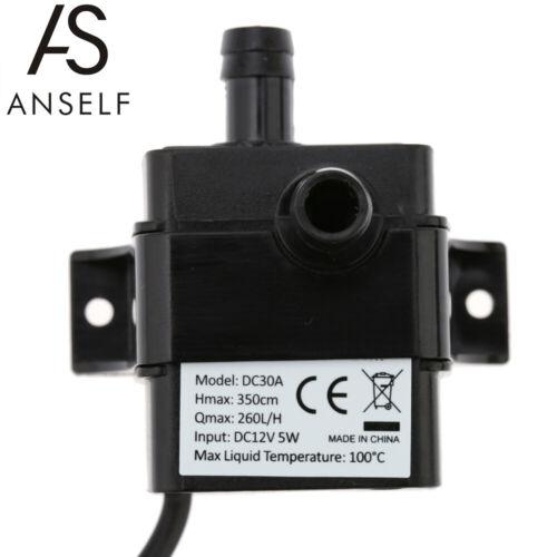 H Mini Brushless Magnetic Selbstansaugende Heiß wasser pumpe P8E8 12V DC 260L