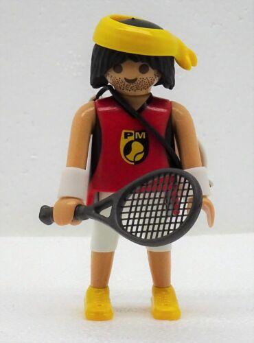 TENNIS SPIELER Playmobil FIGURES 9 BOYS 5598 zu Sport kurze Hose Stirnband 2176