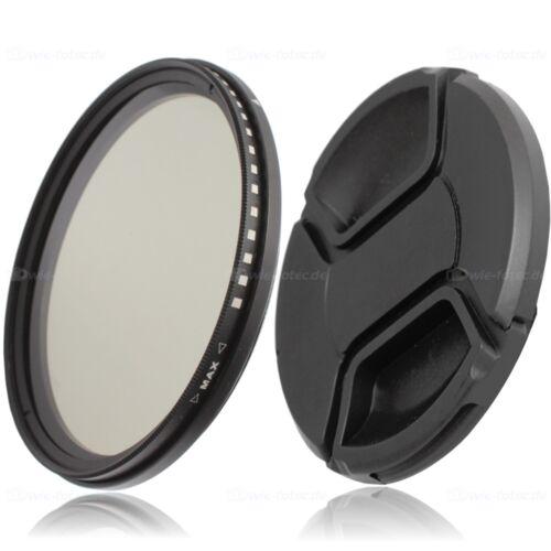 Mercancía de clase B 77mm ND variable filtro gris nd2-nd400 /& 82mm tapa objetivamente