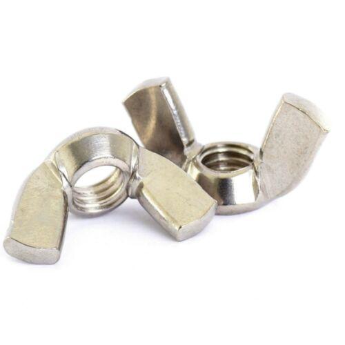 10 PACK STAINLESS NUTS ALL TYPES M2 M2.5 M3 M4 M5 M6 M8 M10 M12