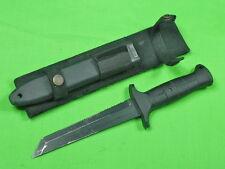 Vintage German Germany BORKOTT & EICKHORN Solingen Tanto Fighting Knife