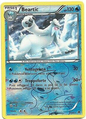 POKEMON Bianco Nero Nuove Forze ITA Reverse Holo Beartic 31//98