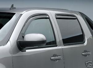 For Chevy Suburban Window Vent 194515 Visors Shades Trim