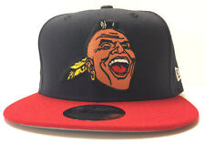 Atlanta Braves New Era 9FIFTY Snapback Hat Screaming Chief Noc-A-Homa Banned Cap