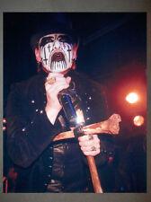 King Diamond Mercyful Fate Promo Photo 8x10 Judas Priest Iron Maiden Venom 3