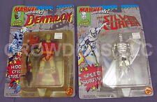 Marvel Super Heroes Cosmic Defenders SILVER SURFER & DEATHLOK ToyBiz 1992 NIP