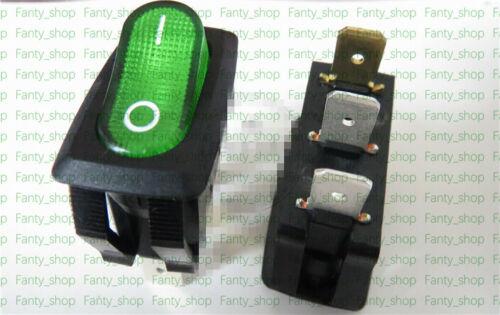 1PC SCI R13-238B Rocker single Switch 2 stalls 3 Pins 10A 250VAC Lamp #V4822 CH