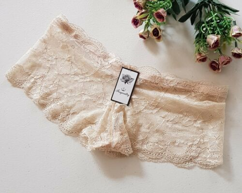 Ladies/' Lace Hipster-Boyleg Panties Extra Small Size 8