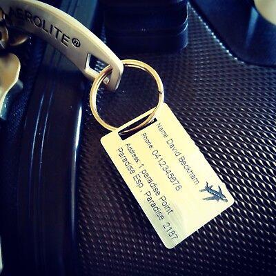 Saobao Travel Luggage Tag Unicorn And Rainbow PU Leather Baggage Travel ID