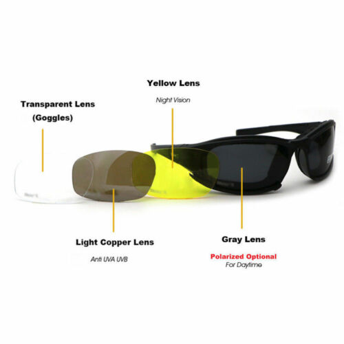 Daisy X7 Uva//Uvb Tactical Military Style Glasses Goggles Motorcycle Sunglasse SP
