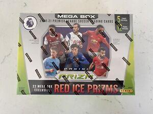 2020-2021 Premier League Soccer Panini Prizm Mega Box Target