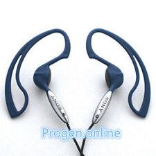 Genuine Sony MDR-J10 clip-on Lightweight Over the Ear Hook Running Headset BLUE