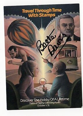 Movies Frank Bette Davis All About Eve Jezebel Autograph Hand Signed Postcard To Ensure A Like-New Appearance Indefinably