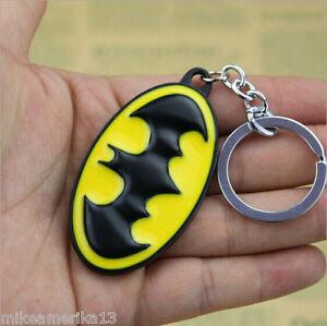 New Batman DC ComIcs Keychain Metal 3D Logo Dark Knight Ships Free From USA