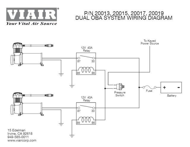 viair compressor wiring diagram viair dual 444c onboard air system 20019 for sale online ebay  viair dual 444c onboard air system