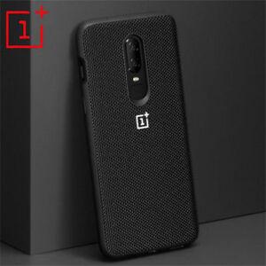 For-One-Plus-6-6T-Carbon-Fiber-Nylon-Pattern-Hybrid-Soft-Hard-Phone-Case-Cover