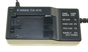 CANON-CA-910B-CA910B-POWER-CHARGER-ADAPTER-FOR-XHA1-XL1-XL2-USED-UK-STOCK