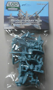 1-32-American-Revolutionary-War-Regular-Light-Plastic-Toy-Soldier-16-Figures-LOD