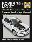 Rover 75 & MG ZT Service and Repair Manual (2014, Taschenbuch)