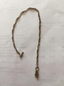 Filigranes-Damenarmband-gedreht-925-Echtsilber-19cm-lang-2g