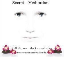 Secret meditazione-immagina... puoi tutto CD DIGIPAK NUOVO & OVP