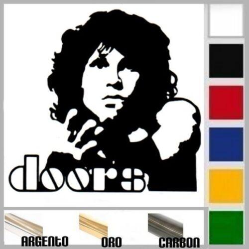 auto adesivo sticker JIM MORRISON-DOORS prespaziato