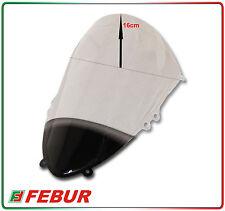 CUPOLINO PLEXIGLASS FEBUR DUCATI 899 1199 PANIGALE RIALZATO TRASPARENTE