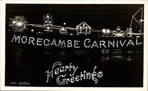 Morecambe-Carnival-Hearty-Greetings-by-Matthews-6771-Electric-Lights