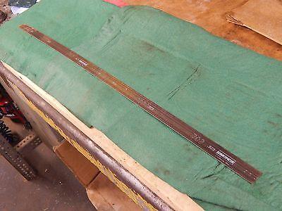"""2 pcs Simmonds Steel Rule Die Material .907/"""" x 30/"""" x .028/"""""""