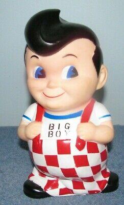 2010 Frisch/'s Bobs or Shoneys Big Boy Coin Bank with Hamburger in gift box