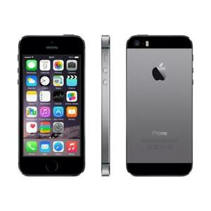 APPLE-IPHONE-5S-16Go-Gris-Debloque-Reconditionne-Bon-etat-Garantie-6-mois