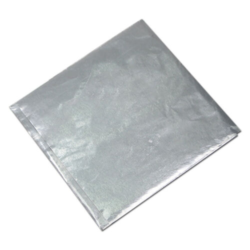 15x15cm 10 Colors Silver Foil Paper Film Wrapper For Chocolate Candy Snack Gift