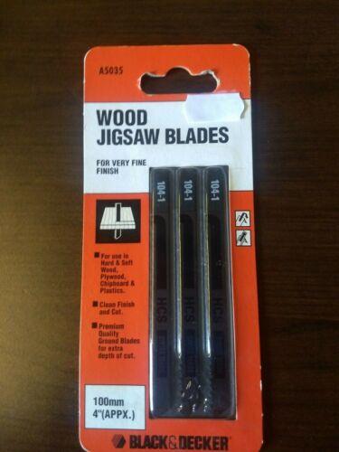 Noir Et Decker Jig Saw Blades ==