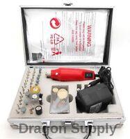 60pc Die Grinder Rotary Tool Kit Hobby Craft Cut Drill Jewelry Fits Dremel Bit