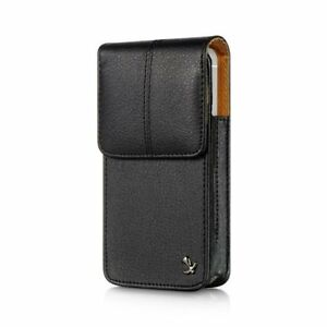 Leather-VERTICAL-Case-Pouch-for-Apple-iPhone-5-5S-5c-SE-Black-Holster-Belt-Clip