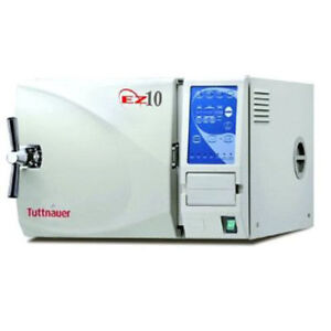 Tuttnauer-EZ10-The-Fully-Automatic-Autoclave-10-034-X-19-034-Chamber-Size-w-Printer