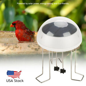 Details About New Bird Bath Solar Water Wiggler Agitator For Birdbaths Patio Garden Us