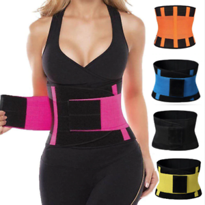 Sport Waist Trainer Weight Loss for Women Sweat Thermo Wrap Body Shaper Belt Gy