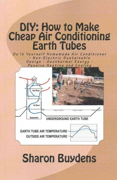 Cheap Air Conditioning Earth Tubes