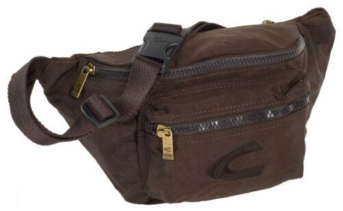 Camel Active Shoulderbag Tasche Gürteltasche Journey Braun Brown Zipper Neu