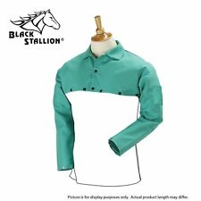 Revco Black Stallion F9 21cs 9oz Green Fr Cotton Welding Cape Sleeve Bib F9 20b