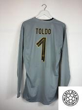 Inter Milan TOLDO #1 08/09 GK Football Shirt (XL) Soccer Jersey Nike
