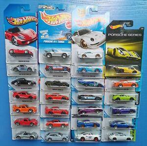 Hot-Wheels-Diecast-toycar-Porsche-Panamera-Serie-911-917LH-carrera-Targa