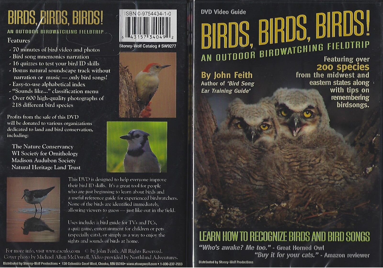 Birds, Birds, Birds- An Indoor Birdwatching Field Trip (DVD, 2005)