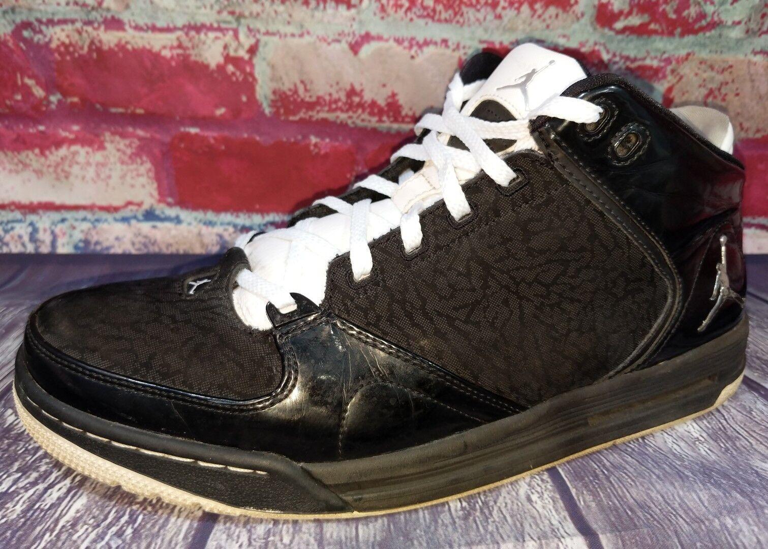 Nike Jordan As You Go 467888 Mens 11 Basketball Shoes Black Patent Leather White Seasonal price cuts, discount benefits