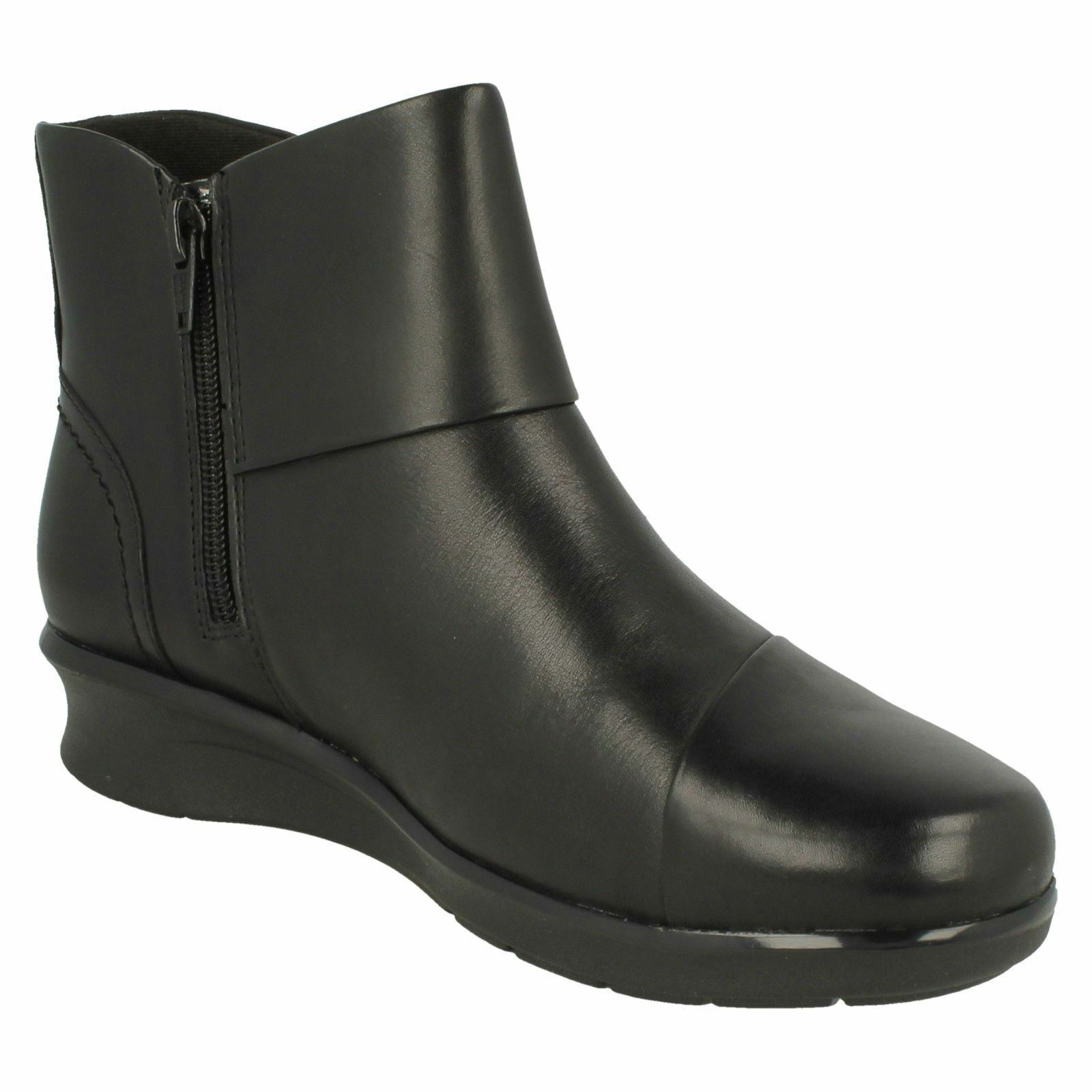 'Ladies Clarks' Ankle Boots Boots Boots -Hope Track 4b5e4d